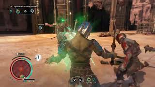 Shadow of war Outlaw Rebellion vs Maurader Fortress