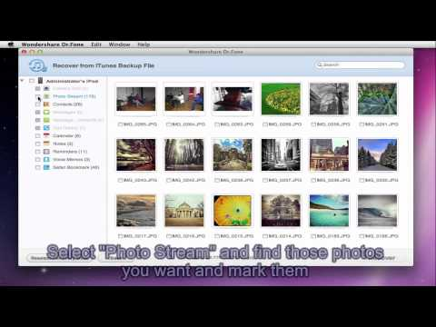 How To Recover Photos From IPod Touch