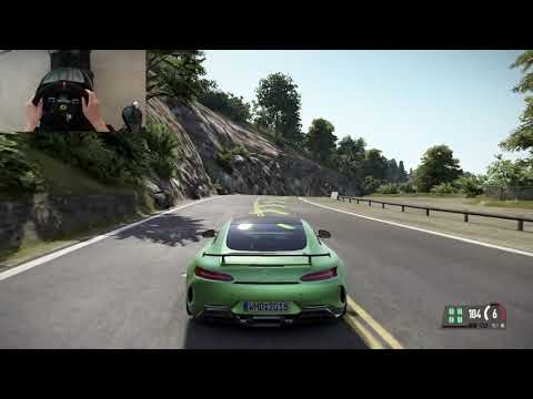 California highway-1 - Mercedes GT R – Project Cars 2 - T300RS