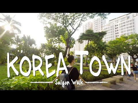 Saigon Walk: Phu My Hung/Korea Town, District 7, Ho Chi Minh City, Vietnam [4K]