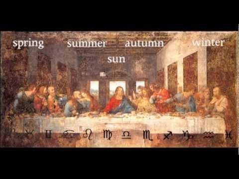 The Last Supper - Leonardo da Vinci - Zodiac - YouTube Da Vinci Last Supper Restored