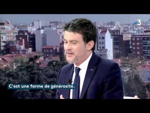 Manuel Valls sur TVE