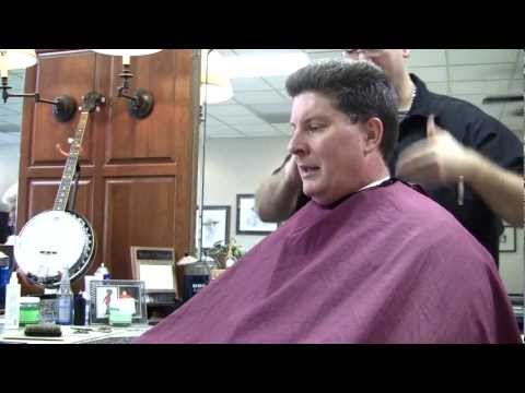 Old Time Barber Shop Hair Cut - Sain's Barber Shop - Real Time Version