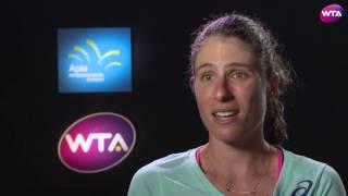 My Performance | Johanna Konta Defeats Agneiszka Radwanska | 2017 Apia International Sydney Finals