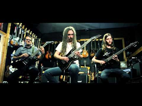 """Mandroid Echostar - The Kingdom and The Crown"" Guitar Playthrough"