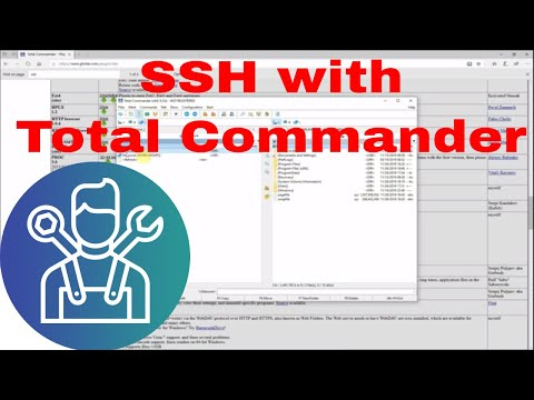 Using Total Commander To SSH A Remote Device