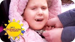 Lilly (7) will würdevoll leben: Angewiesen auf ein Beatmungsgerät   SAT.1 Frühstücksfernsehen   TV