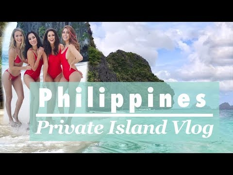 Private Jet to Beautiful Filipino Beaches with Miss Universe Friends! Travel w/ Nia Sanchez