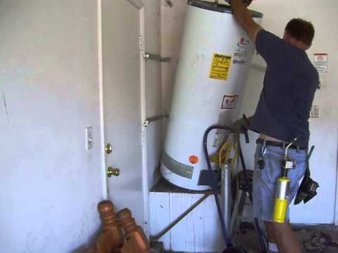 1 Lower A Water Heater Youtube