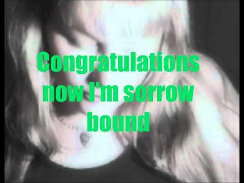 Travelling Wilburys - Congratulations - Lyrics