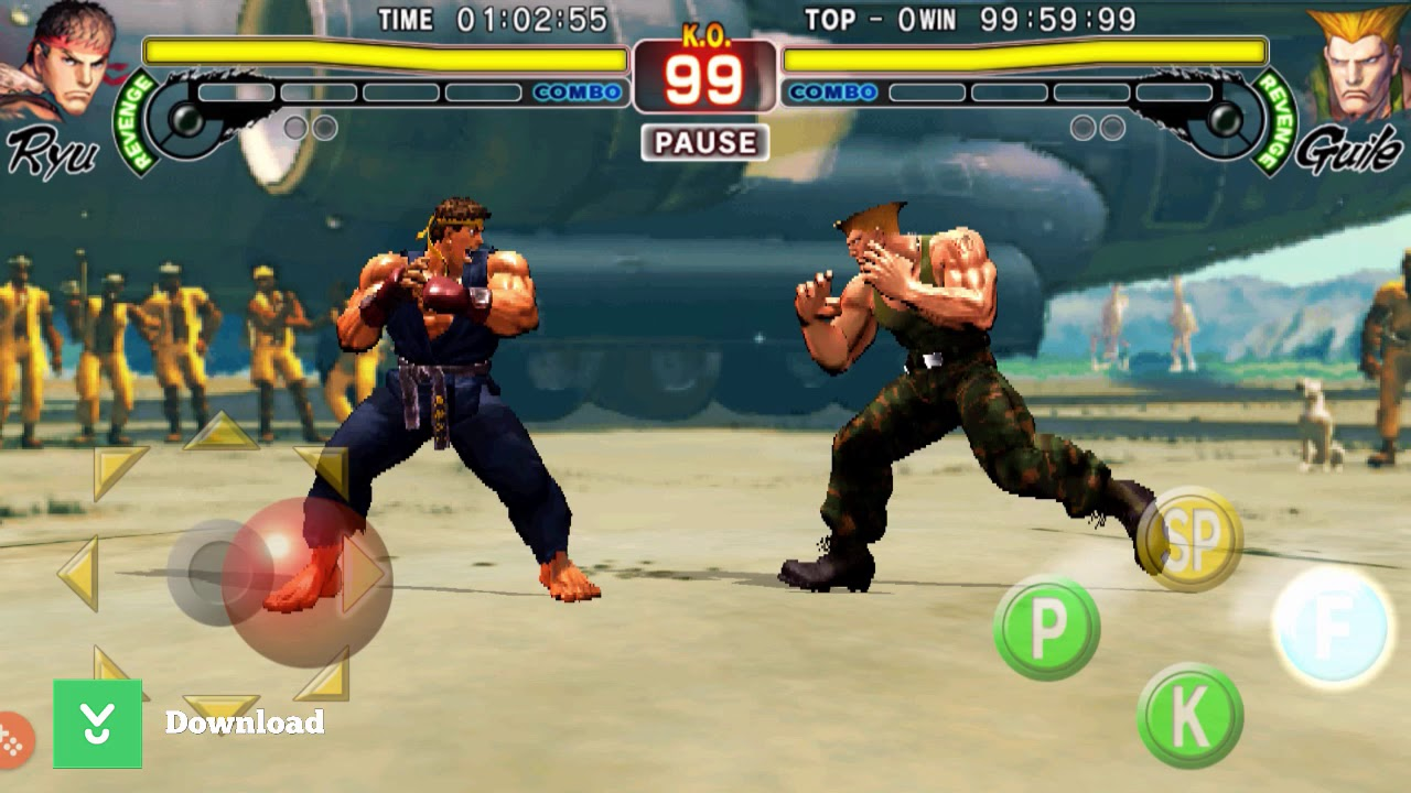 Street Fighter IV Champion Edition - An exciting fighting game on mobile