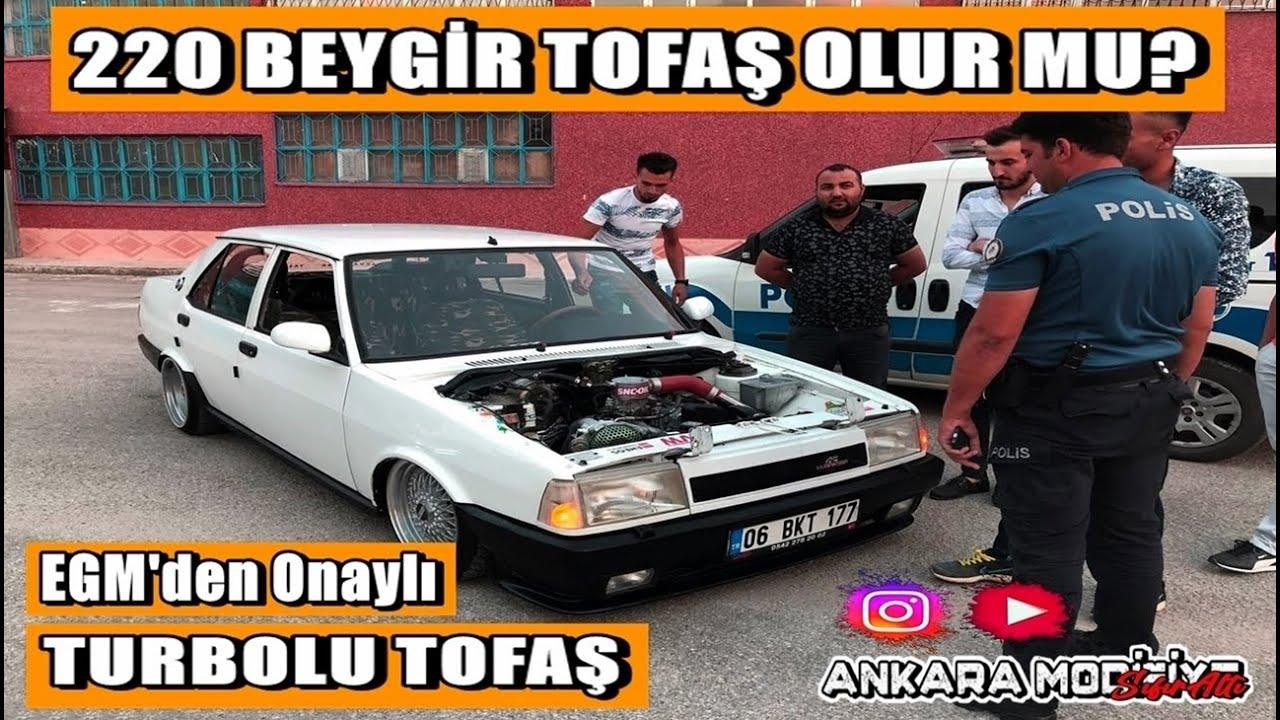 220 Beygirlik Tofaş -  Yaparsa Yine Ankara Yapar - 06 Ankara Modifiye Araç Tanıtımı