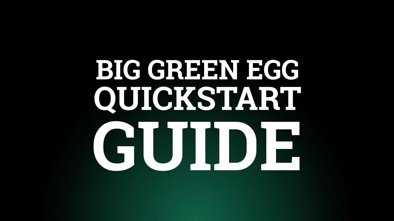 Green Egg S Quick Start Guide