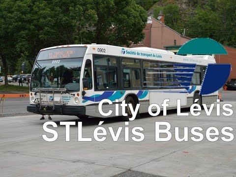 City of Levis public transportation: STLévis Buses