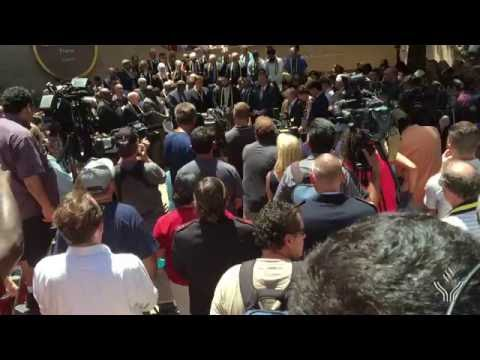07.08.16 Imam Omar Suleiman speaks at Rally for Shooting Victims in Thanksgiving Square