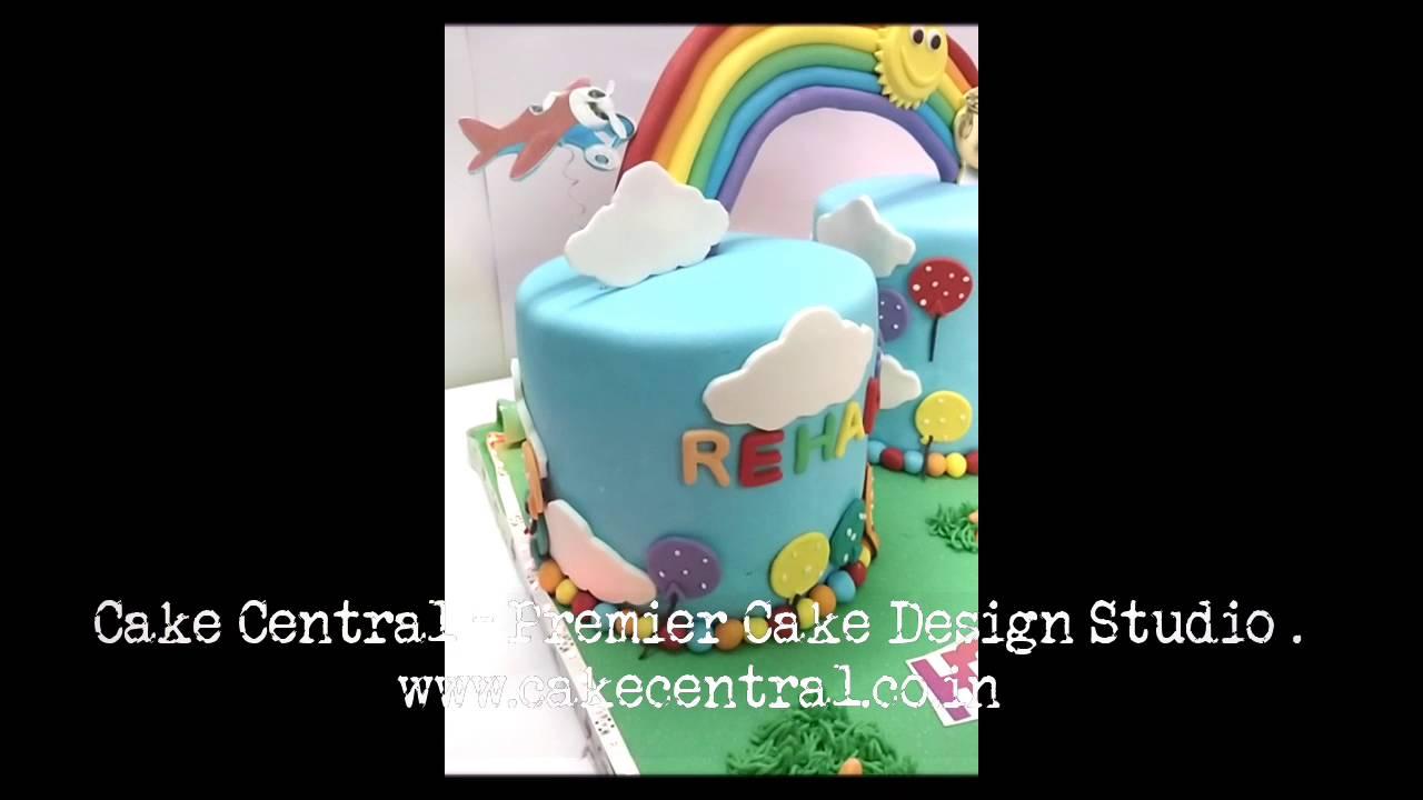 Rainbow Cake Delhi