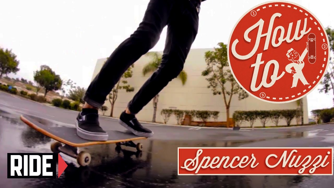 how to skateboarding powerslides with spencer nuzzi youtube