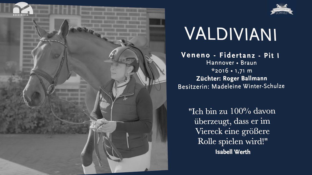 Valdiviani, la jeune recrue peu connue d'Isabell Werth