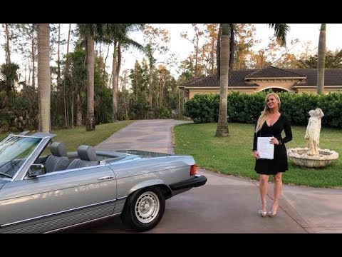 SOLD! 1982 Mercedes 380SL, 20K Miles, Museum Quality, Records, Hard Top/Soft Top