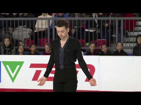 07 Samuel ANGERS - Canadian Nationals 2018   Mens FS