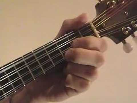 Mandolin Lesson Playing Chords On The Mandolin With Tabs Youtube
