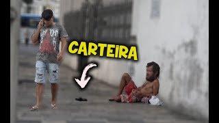 DEIXANDO CARTEIRA CAIR EM PÚBLICO (Experimento Social) thumbnail
