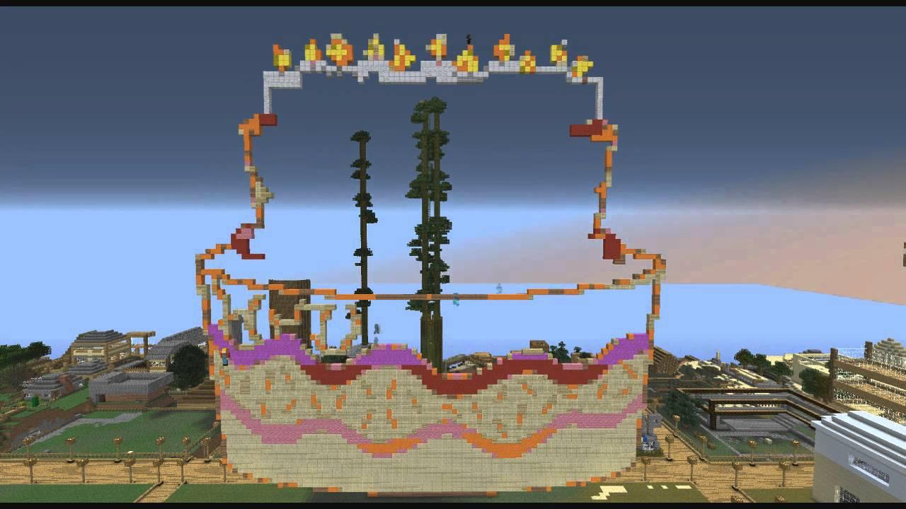 Minecraft Pixel Art Speed Build Birthday Cake YouTube