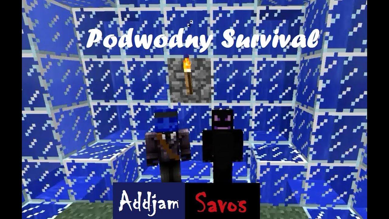 Minecraft Podwodny Survival #1 - Cichy odcinek 1