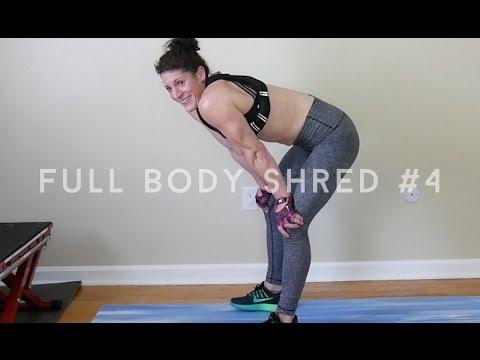 Full Body Shred for Summer #4: 60 minute HIIT