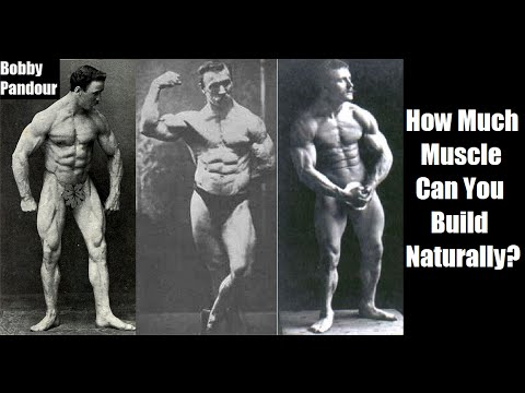 How Much Muscle Can You Build Naturally? (The Truth)