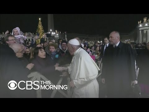 Sherry Mackey - The Pope Smacked A Woman's Hand But Now Apologizes