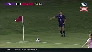 TCU vs Oklahoma Soccer Highlights