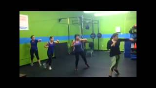 Kardio kickboxing at Physiofit davie, FL
