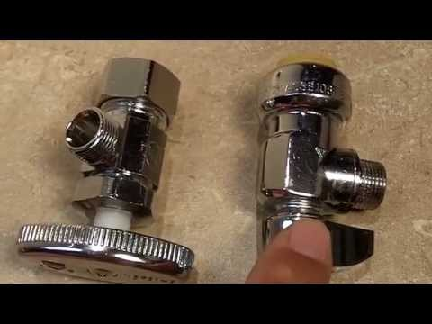 Which Type of Water Supply Valve Should You Use: Compression or Push Fit?