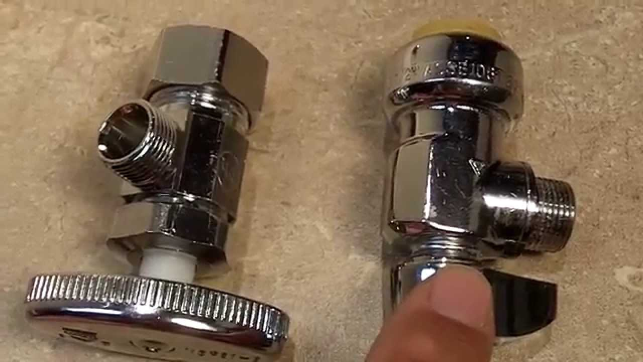 Which Type of Water Supply Valve Should You Use: Compression or Push ...