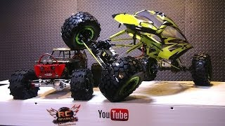 RC ADVENTURES - Exceed RC MaxStone 1/5th Scale Crawler - A Monster RC TRUCK