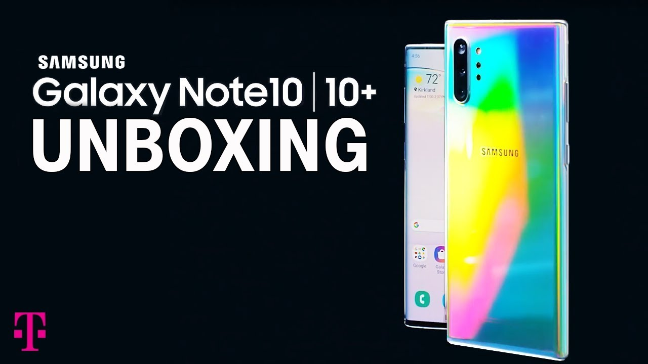 Samsung Galaxy Note 10 and Note 10+ official, launching at T-Mobile