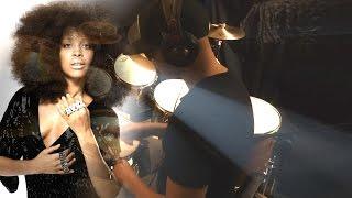 Robert Glasper Experiment - Afro Blue (Feat. Erykah Badu) {Drum Cover} Full HD