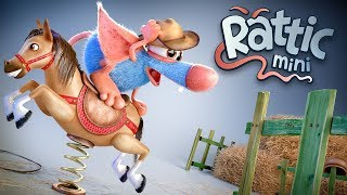 Funny Cartoon Compilation For Kids | Rattic  – All Episodes #4 | Funny Cartoons For Children & Kids