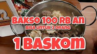 Bakso Sultan Viral di Bandung -100 ribuan buat 3 orang
