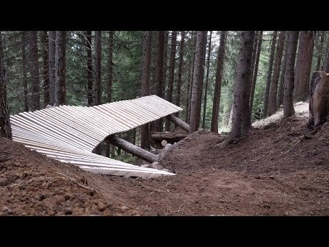 GETS AIRLINE track (MTB DH) - behind the scenes