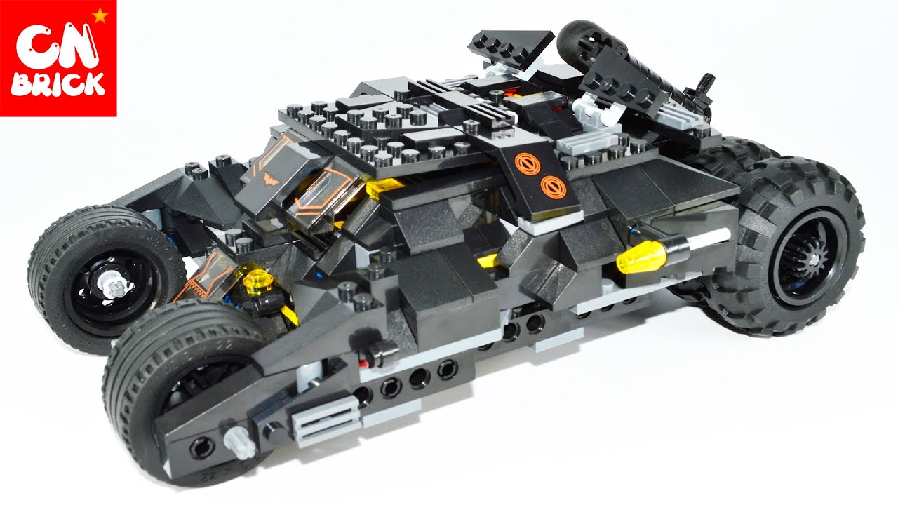 lego decool 7105 batman tumbler youtube. Black Bedroom Furniture Sets. Home Design Ideas