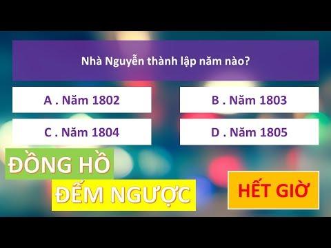 Đồng hồ đếm ngược trong PowerPoint   Áp dụng cho câu hỏi trắc nghiệm 4 đáp án   TRỢ GIẢNG