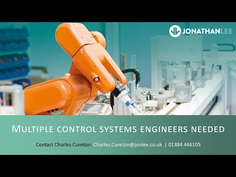 Multiple Control Systems Engineers Needed