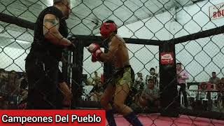 🥊Kevin Nogueira Vs Alexis Sánchez - KICK BOXING - AMATEUR - Campeones Del Pueblo - Siempre Humilde