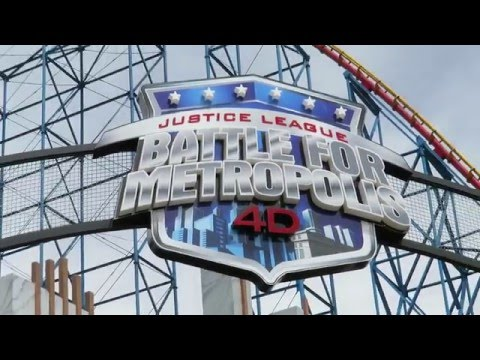 Justice League Battle For Metrópolis @ Six Flags México POV