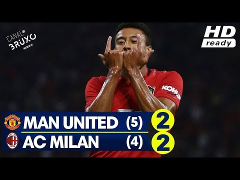 MANCHESTER UNITED MILAN 2-2 5-4 PENALTY ALL GOALS