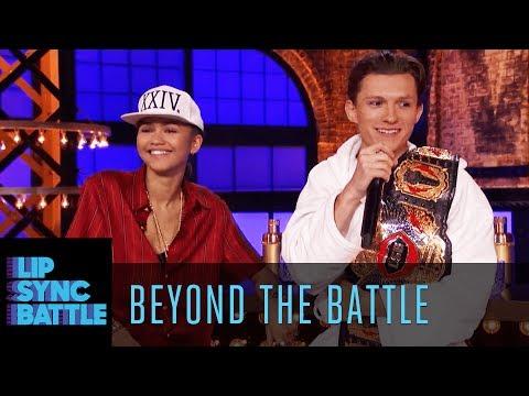 Zendaya & Tom Holland Go Beyond the Battle | Lip Sync Battle