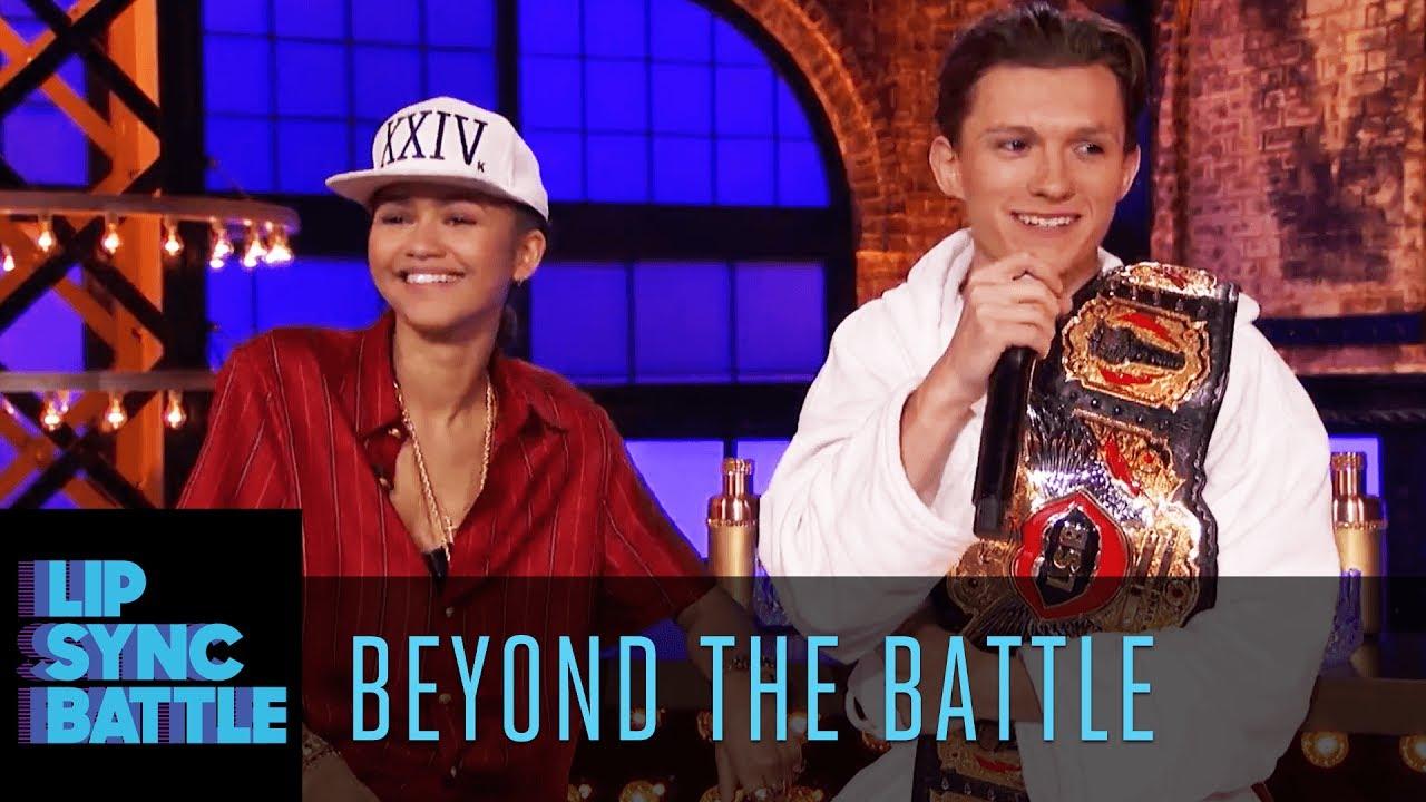 Zendaya & Tom Holland Go Beyond the Battle | Lip Sync ...