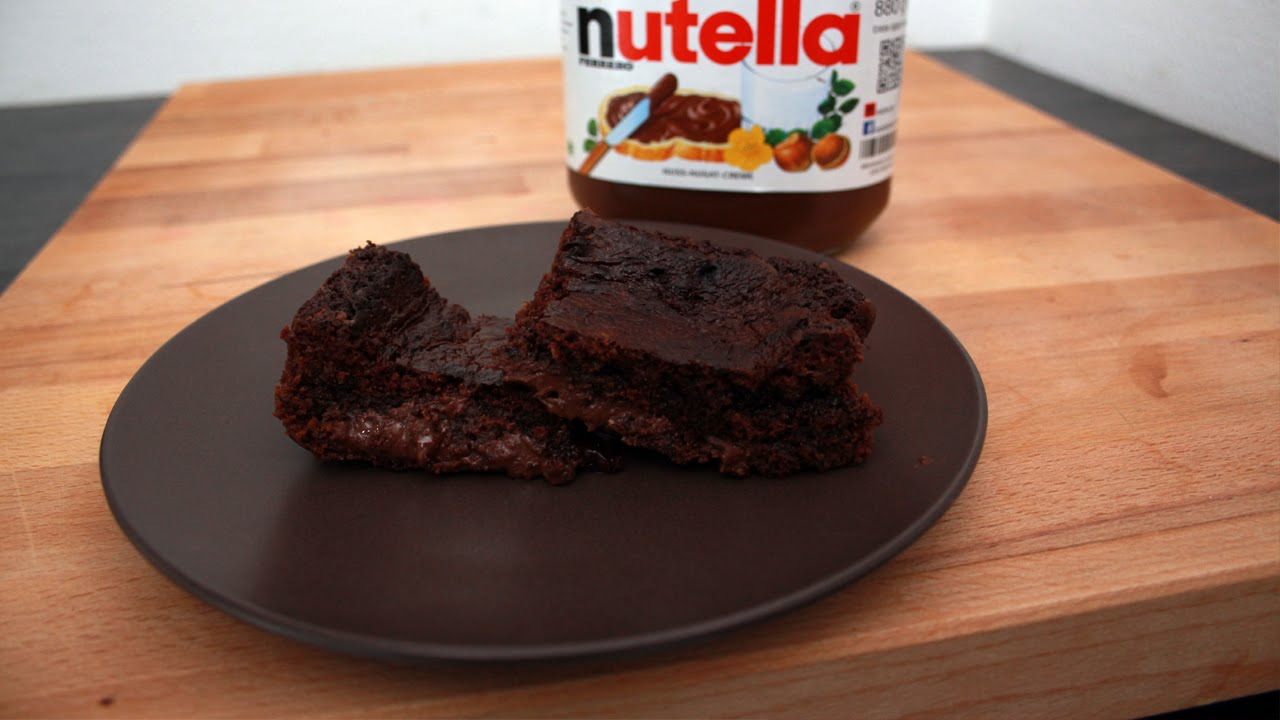 recette facile brownie au nutella fastgoodcuisine. Black Bedroom Furniture Sets. Home Design Ideas